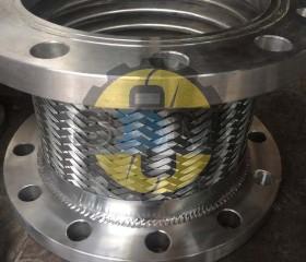 Giảm chấn ống bô máy phát điện D220 có lót