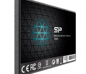 Ổ Cứng SSD Silicon Power S55 120GB (TLC) Up To 550MB/s / 420MB/s - Hàng Chính Hãng